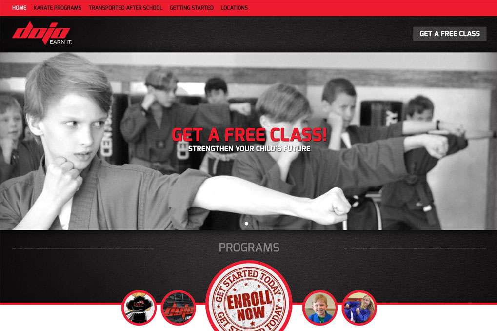 Dojo Karate Website